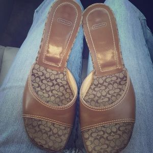 😍Coach Sandals 👡😍